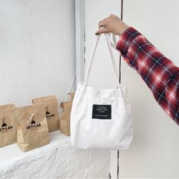 Canada Sac à main en velours côtelé pour femmes Pure Pur coton Eco Cloth Crossbody Sacs à bandoulière pour dames Sac à provisions Rose Sac à main Totes pour les filles Offre