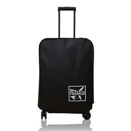 Водонепроницаемые чемоданы онлайн-Защитные путешествия открытый против царапин чемодан аксессуары водонепроницаемый пылезащитный чехол для багажа нетканые ткани утолщенные