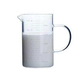 edelstahl messlöffel großhandel Rabatt Neu Becherglas Kaffee Messbecher Becherbecher Mit Ausguss Oberfläche Küchenwerkzeug Liefert Borosilikatglas Laborglaswaren Klarglas