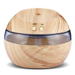 Canada VENTE CHAUDE Humidificateur ultrasonique de diffuseur d'huile essentielle d'USB avec la machine bleue d'humidificateur ultrasonique de LED d'arome de parfum de parfum Offre