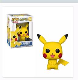 2019 dolls para venda Anime Bonito Brinquedo Pikachu FUNKO POP PVC Pequeno Requintado Modelo Boneca Masculino E Feminino Presente Popular Venda Quente 20 mha I1 desconto dolls para venda