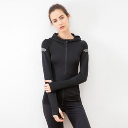 2019 entrenamiento de imprenta ESHINES 2019 nueva sudadera deportiva con estampado sin costuras chaqueta de entrenamiento de fitness para correr al aire libre femenina entrenamiento de imprenta baratos