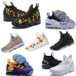 size 40 02ebc ea43c 2019 Neueste Ashes Ghost lebron 15 Basketballschuhe Lebrons Schuhe Sneakers  15s Mens James Sportschuhe schuhe basketball lebron Outlet