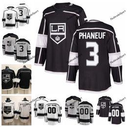 2019 новый альтернативный Лос-Анджелес Кингс Дион Фанеф хоккейные майки Мужские пользовательские имя Главная LA #3 Дион Фанеф сшитые хоккейные рубашки S-XXXL от