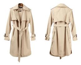 cappotto lungo di lana di panno Sconti 2019 Nuovo Autunno Inverno Cappotto  di lana Cashmere di a7d08daad27