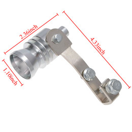 Auto Auspuff Endrohr Whistler Turbo Dump Ventil Gefälschte Sound Pfeife XL