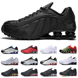 54070ee01d720 r4 chaussures hommes Promotion Nike Shox R4 2019 Nouveau Shox R4 Hommes  Designer Chaussures De Course
