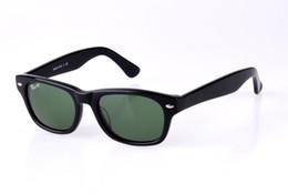 Lente de tamaño online-Soscar Brand Gafas de sol para hombres Mujeres Fashion Square Designer Gafas de sol Plank Frame Glass Lens Size 52mm 55mm Excelente calidad con caja