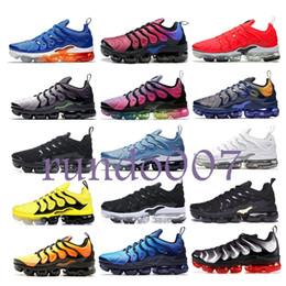 hot sale online 35331 b25b3 2019 TN Plus air hommes femmes en cours d exécution pour hommes de mode  Designer chaussures de luxe Wave Runner max Formation chaussures Sneakers
