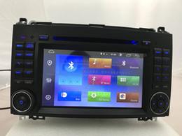 2gb ram chinês telefone on-line-Android 9.0 DSP 2 Gb de ram 16 Gb rom Car DVD Player para Mercedes Benz W245 W169 Viano Vito W639 Sprinter W906 2006-2008 2009 2010 2011