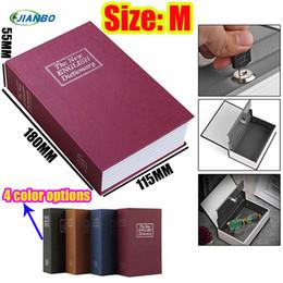 fechadura do cofrinho Desconto Oculto caixa secreta For Kids Items Box Cassaforte Mini Piggy Bank Bloqueio Livro Seguro Cofre Caixa de armazenamento de chave Stash pequeno cofre para o dinheiro SH190929