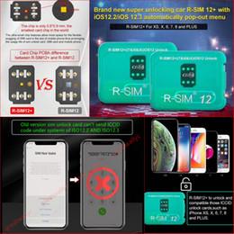 RSIM12 + Déverrouillage parfait pour ISO 12.3 R-sim 12+ pour carte SIM originale Déverrouillage ICCID pour Iphone XS X 8 7 VS R-SIM 14 ? partir de fabricateur
