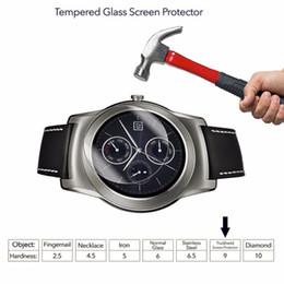 2019 защитный экран Стекло протектор для LG Urbane W100 G Watch R Watch 150 110 9H HD ясно премиум закаленный экран смарт-часы скидка защитный экран