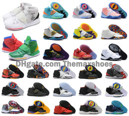 kyrie hommes chaussures  Promotion Chaude 2020 garçons Kyrie VI hommes de basket-ball Chaussures Irving 6 S 6 Filles Femmes 11 Zoom Sport Sneakers 40-46