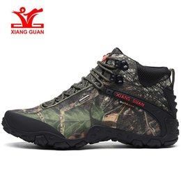 Scarpe sportive mens impermeabili online-XIANGGUAN 82289 Arrampicata Mens Designer Scarpe da corsa Jogging Trekking Sport Sneaker camouflage Viaggi scarpe da ginnastica impermeabili scarpe xiangguan