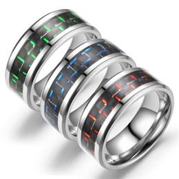 2019 ehering männer schwarz Carbon Ring Schwarz Ehering Designer Ringe Versprechen Verlobungsringe Für Männer Frauen Liebe herren schmuck ringe luxus designer schmuck günstig ehering männer schwarz