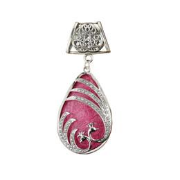 Design de moda DIY Colar Pingente cachecol jóias charme de cor mista resina gota de pavão jóias cachecol pingente, frete grátis, AC0356 de Fornecedores de tecidos para vestidos