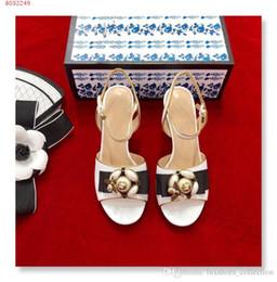 Canada Printemps / été nouvelles femmes sandales à talons hauts, chaussures Beaded Bee modèle femmes, style de la rue Sandales à talons hauts cheap street style bracelet Offre