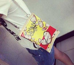 Тайские телефоны онлайн-Тайская звезда в harajuku мягкие сестринские чипсы ручная сумка колледж косой ранец забавные закуски мобильный телефон кошелек