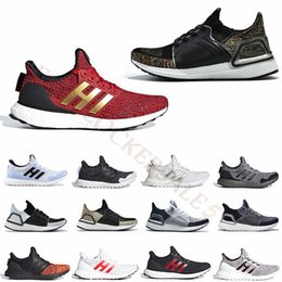 2019 outdoor winter mann schuhe Neue 2019 Ultra Boost 4.0 Laufschuhe für Männer Frauen Ultraboost 5.0 19 Athletic Trainer Turnschuhe Lannister Red Outdoor Sports Casual Shoes rabatt outdoor winter mann schuhe