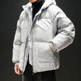 7cfc7b0f688 Men s Plus-size Fashion Hooded Short Cotton Suit Men s Casual Cotton-padded  canada down bomber puffer Jacket men monclair monler napapijri puffer down  ...