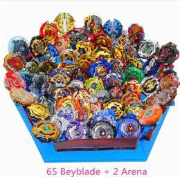 Spielzeugklingen online-Bayblade Burst Toys Mit Launcher Starter und Arena Bayblade Metal Fusion Gott Kreisel Blades Toys Drop Shipping