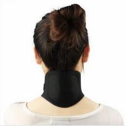 Massaggiatore di calore online-Auto riscaldamento Tourmaline collo magnetico di calore terapia di supporto della cinghia dell'involucro del gancio di sanità del Massager Strumento RRA1714