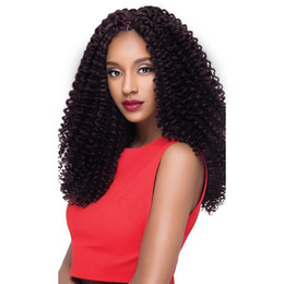 Dame Frisur Lange Verworrene Lockige Weiche 8a Brasilianisches Haar Afroamerikaner Simulation Echthaar Lockige Perücke Mittelteil