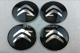 4 x 60mm 3D Stickers for Wheel Center Caps A 8660