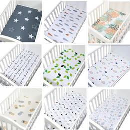 Deutschland Babybettlaken 100% Baumwolle Cartoon Weiche Atmungsaktive Babybett Matratzenbezug Kinderbett Spannbetttuch Bettwäsche Neugeborenen Kinderbett Bettwäsche Versorgung