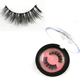 7f287397f1c Invisible band 3D faux mink eyelashes and custom package faux mink lash  eyelashes for sale wholesale mink lashes