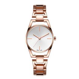 Argentina 2019 Nuevas ventas calientes Relojes de cuarzo de acero para mujer Relojes de pulsera ocasionales noble hembra mesa china relojes baratos al por mayor Suministro