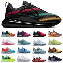 Argentina nike air max 720 Negro Neon Streaks SPIRIT TEAL Nuevo color Northen Lights Day Night Wolf Gris Rojo Hombres Zapatos de diseñador Sunset Sunrise Running Sneakers Trainers cheap wolf night lights Suministro