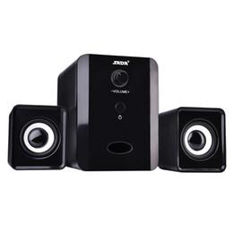 SADA D-201 USB Wired Combination Speaker Mini Bass Altoparlante stereo Lettore musicale Subwoofer per cellulare Laptop Spedizione gratuita da