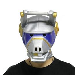 Argentina DJ YONDER DJ Máscaras de llama Cabeza de llama Máscara facial completa Cosplay Máscaras de látex natural Colección de fiesta de Halloween Props 1PCS Envío gratis Suministro