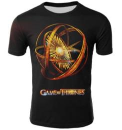 2019 Venta Caliente Juego de Tronos Camiseta Hombres Mujeres Targaryen Fire Blood Dragon Camiseta Juego de Tronos Disfraz Figura Invierno Camiseta K1084 desde fabricantes