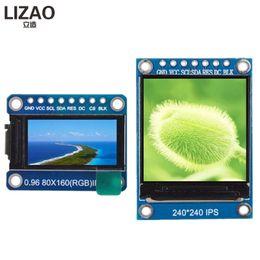 2019 hd tft lcd display WAVGAT TFT Display 0.96 / 1.3 inch IPS 7P SPI HD 65K Modulo LCD a colori a colori ST7735 / ST7789 Unità IC 80 * 160 240 * 240 (non OLED) hd tft lcd display economici
