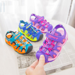 e77a7db3291 sandalias de agua para niñas Rebajas Niños al aire libre Correa deportiva  transpirable punta cerrada sandalias