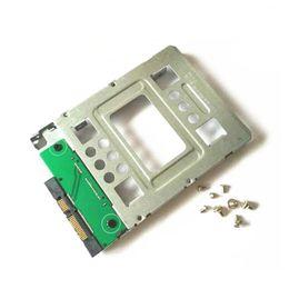 """2pcs Lote HP 654540-001 2,5"""" SSD de 3,5"""" SATA adaptador do tabuleiro conversor SAS HDD suporte do compartimento de Fornecedores de caixa de plástico de disco rígido 3.5"""