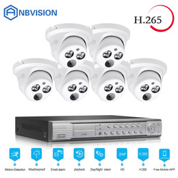 net kits Promo Codes - eyes.sys 6pcs 3.0MP IP Night Vision Camera+H.265 8CH 4.0MP POE NET NVR Outdoor Video Surveillance Kits Security System free ship