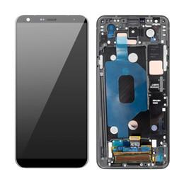 """2019 asus frame 6.2 """"Per LG Q Stylo 4 Stylo4 Q710 Q710MS Q710CS Display LCD Touch Screen Digitizer sostituzione sostituzione con telaio"""
