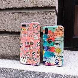 couverture de cellule mignon Promotion Coque en TPU pour iPhone 7 8 Plus, blu-ray designer, coque de téléphone portable pour iPhoneX XR X XS MAX