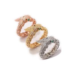 runde diamant-einstellungen Rabatt Mode schlangenringe dame ring mode design lange finger schmuck hohe qualität schlangenförmigen ring für frauen party
