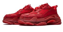 Zapatillas dhl online-DHL libera el envío 5A Triple S Clear Sole 490671 zapatillas deportivas, zapatillas, con caja de zapatos original, tamaño 35-45, color 04