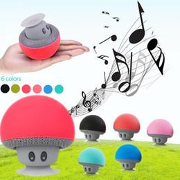 usb lautsprecher puppe Rabatt Pilz drahtloser Mini Lautsprecher Bluetooth Lautsprecher BT28 Lautsprecher Mini Lautsprecher Bluetooth Iphone Lautsprecher 6 Arten DHL