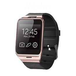 gv18 smart watches Rabatt GV18 Smartwatches mit Kamera Bluetooth Armbanduhr SIM-Karte Smartwatch für iOS Android Phone Support Hebräisch