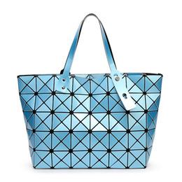 Novos sacos de marca pérola on-line-Atacado-2015 New Bao bao mulheres bolsa de pérola Diamond Lattice Tote geometria Acolchoado ombro bag sac sacolas bolsas marcas famosas
