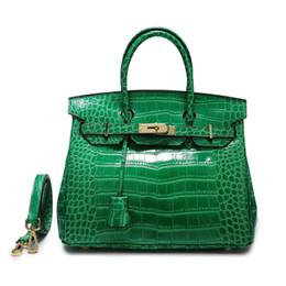 2019 neue Mode Wilden Krokodilleder Clutch Handtasche Tasche Geldbörse Abendtaschen große Kapazität Shell Tasche Reißverschluss Clutch Bag Geldbörse von Fabrikanten