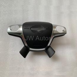 volante di messa a fuoco Sconti Copertura dell'airbag del volante dell'automobile di alta qualità SRS per la copertura dell'airbag del driver di Ford Focus con il logo