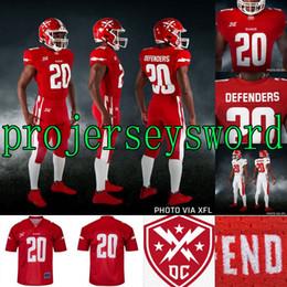 2019 camisas de rugby da faculdade 2020 DC Defensores Jersey Cardale Jones Tyree Jackson Vad Lee Jhurell Pressley Donnel Pumphery John Thomas Pressley XFL Football Jerseys